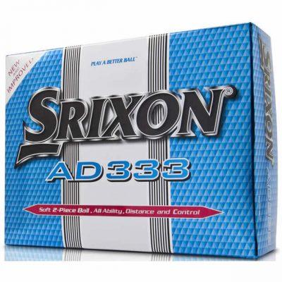 Srixon Golfbolde AD333 Hvide distance bolde